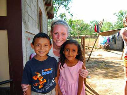 Nicaragua community service project